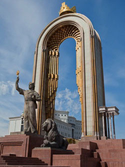 """Площадь Свободы """"Озодлик"""", Душанбе"""