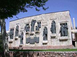 Памятник Айни, Душанбе